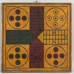 Painted Double-sided Game Board