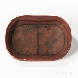 Miniature Eskimo Wood Bowl