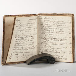 Physician's Journal, 1840s, Connecticut.