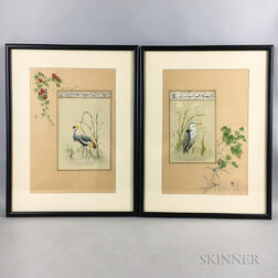 Two Illustrated Manuscripts