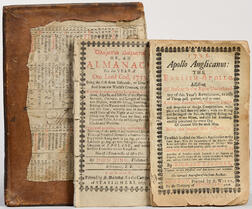 Almanacks, Two Examples: 1726 and 1733.