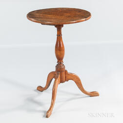 Tiger Maple Candlestand