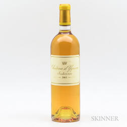 Chateau d'Yquem 2003, 1 bottle