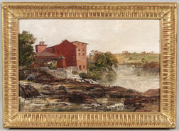 Charles Edwin Lewis Green (Massachusetts, 1844-1915)      The Old Factory