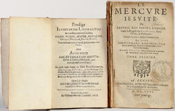 Anti-Jesuit Tracts, 17th Century, Two Volumes.