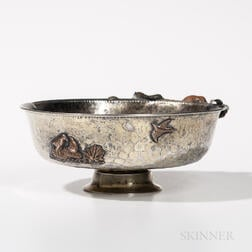 Gorham Sterling Silver and Mixed Metal Bowl