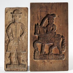 Two Carved Cookie Boards