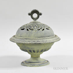 Continental Cast Metal Covered Censer