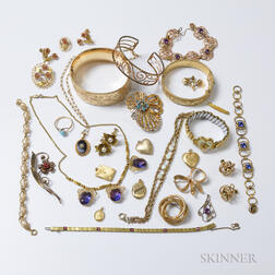 Group of Gold-filled Jewelry