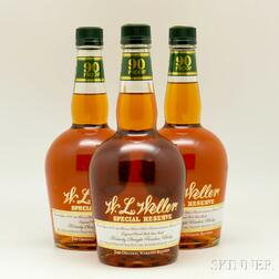 WL Weller Special Reserve, 3 750ml bottles