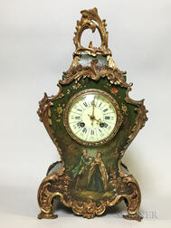 Tiffany & Co. Ormolu-mounted Mantel Clock