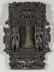 Ornately Carved Mirror Frame