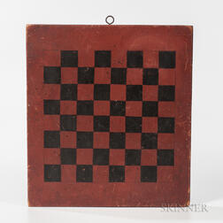 Small Red and Black Checkerboard
