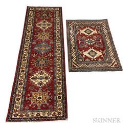 Two Caucasian-style Rugs