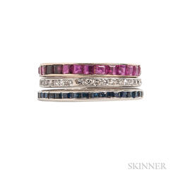Three Eternity Bands