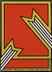 Nicholas Krushenick (American, 1929-1999)      Ten New York State Council on the Arts Award Posters