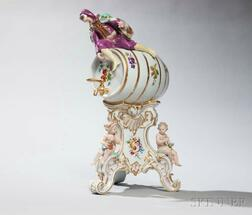 Meissen Porcelain Wine Dispenser