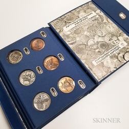 Thirty Israeli Sterling Silver and Bronze Medals