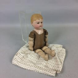 Martha Chase Painted Stockinette Baby Doll