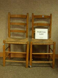 Collection of Sixteen Assorted 19th Century Chairs.