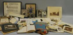 Collection of Sawyer Family of Sterling, Massachusetts Related Ephemera and   Documents