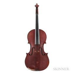 American Violin, Jerome Bonaparte Squier, Boston, 1890