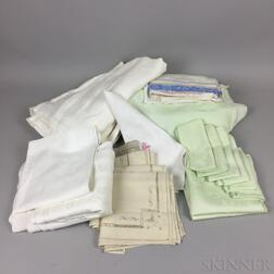 Small Group of Table Linens.