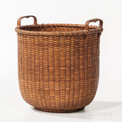 Tall Nantucket Basket