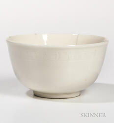 Small Cream-glazed Bowl