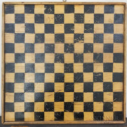 Polychrome Painted Double-side Game Board