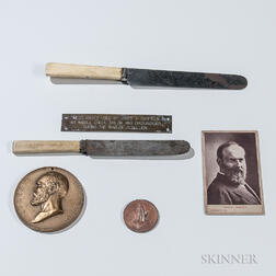 James Garfield-related Objects