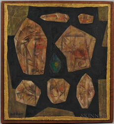 Ruth Reeves (American, 1892-1966)      Cubist Abstraction