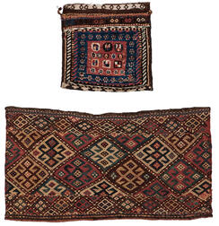 Luri Pile Bag and Shahsavan Jajim Panel