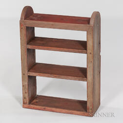 Small Painted Shelf