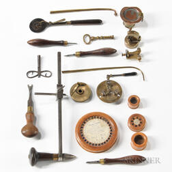 Collection of Watchmaker's Tools