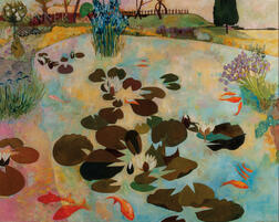 Christiane Kubrick (German/British, b. 1932)      Lily Pond