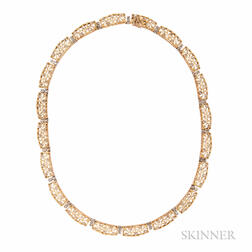 18kt Gold and Diamond Necklace, Buccellati