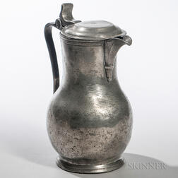 Continental Pewter Flagon
