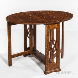 Arts and Crafts Mission Gate-leg Table