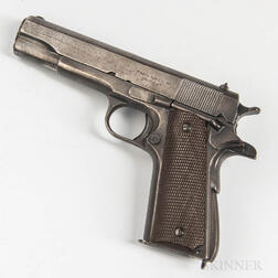 Remington Rand Model 1911A1 Semiautomatic Pistol with Mismatched Slide