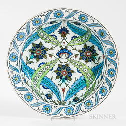 Cantagalli Tin-glazed Earthenware Charger