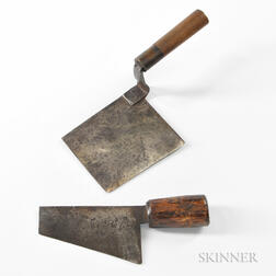 Two Tatami or Thatch-cutting Knives