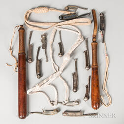 Boatswain's Whistles and Two Clubs