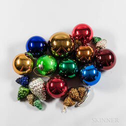 Collection of Approximately Forty-eight Kugel Ornaments