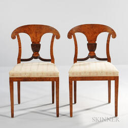 Pair of Swedish Biedermeier-style Chairs