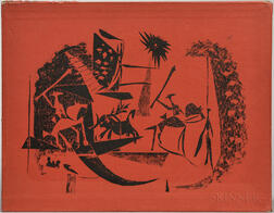 Picasso, Pablo (1881-1973) Toreros, with Four Original Lithographs.