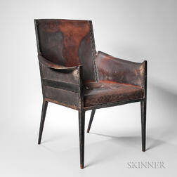 Attributed to Jean-Michel Frank (1895-1941) Armchair