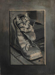 American School, 20th Century      Kitten in a Boot