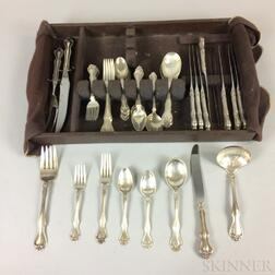 Westmorland Partial Sterling Silver Flatware Service