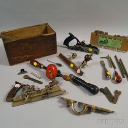 Group of Woodworking Tools